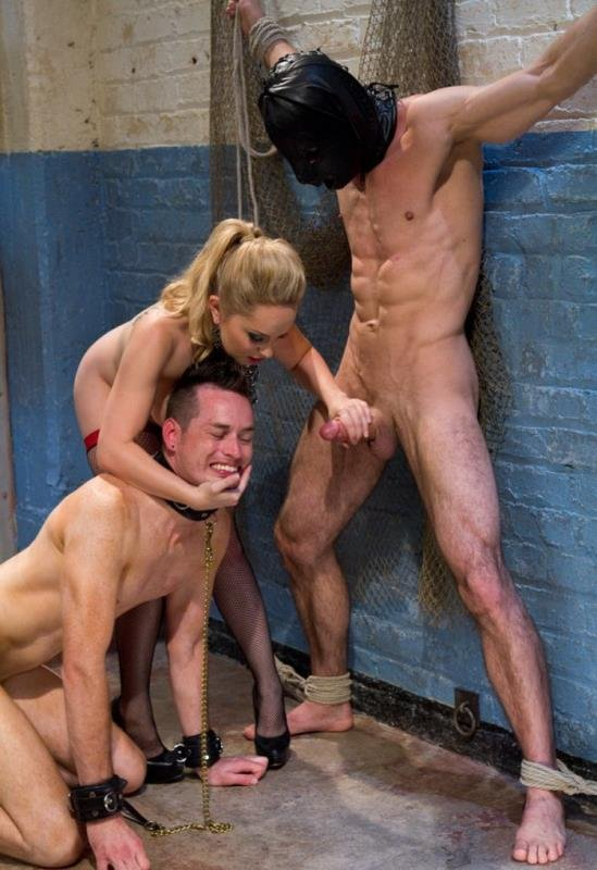 Kink: (Aiden Starr, Jason Miller and Leo) - Ultimate Humiliation, TRUE DEVOTION!!! [HD / 832 MB] - BDSM / Bondage / Domination