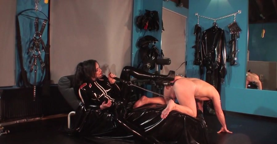 KinkyMistresses: (Goddess Lucrezia) - Arse Fucking with High Heels [HD 720p / 92 MB] - Femdom / Domination