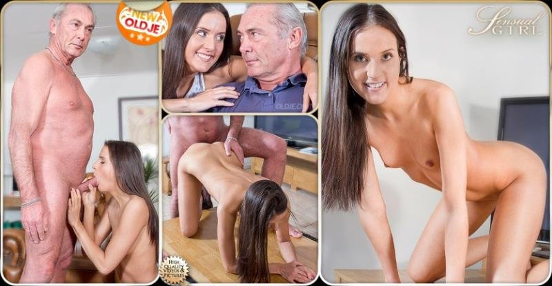 Oldje: (Adriana) - Sexual Tension [HD / 651 MB] - Oldman Young girl / Incest
