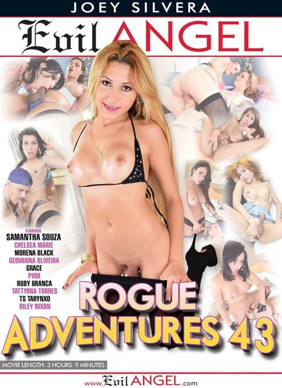 Evil Angel: (Alex Rich, Alex Victor, Chelsea Marie, Geovanna Oliveira, Grace, Morena Black, Pink) - Rogue Adventures 43 [WEBRip/HD / 6.51 GB] - Anal / Transsexual
