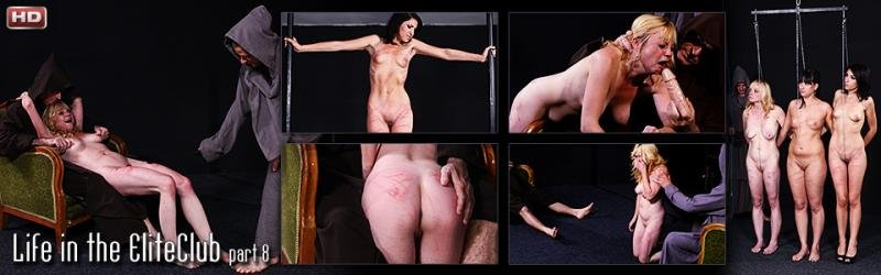 ElitePain: (Linda) - Life in the EliteClub, part 8 [HD / 1.04 GB] - Torture / Whipping