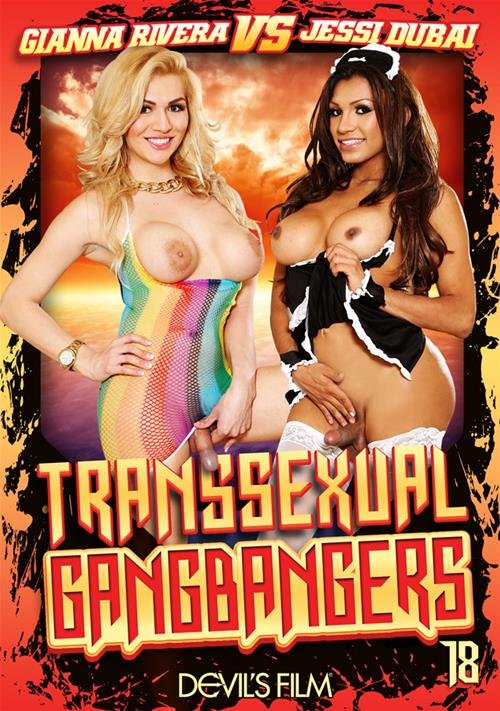 Devils Film: (Chad Diamond, Christian XXX, Gianna Rivera, Jessy Dubai, Wolf Hudson) - Transsexual Gang Bangers 18 [WEBRip/SD / 1.06 GB] - Transsexual / Anal