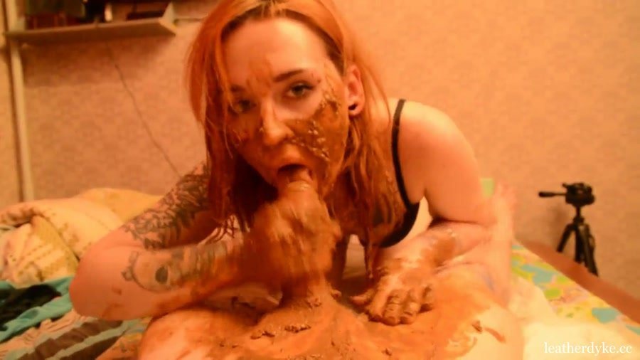 Scatshop: (Sweet Betty Parlour ( Dirty Betty )) - Blowjob From Scat Queen [FullHD 1080p / 543 MB] - Scat / Russian