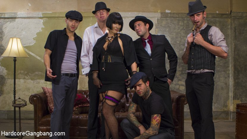 HardcoreGangBang: (Rose Rhapsody) - Agent Airtight: Slutty Fed Takes Five Hard Cocks In All Her Holes [SD / 364 MB] - BDSM / Bondage