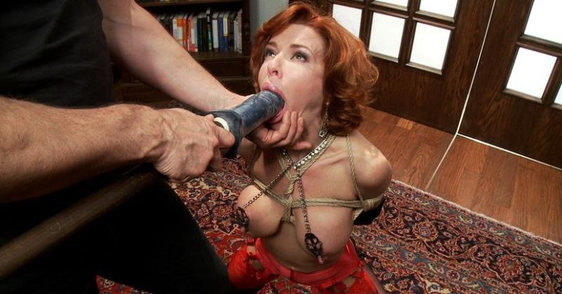 TheTrainingOfO: (Veronica Avluv) - The Training of a Nympho Anal MILF, Day One [SD / 829 MB] - BDSM / Anal