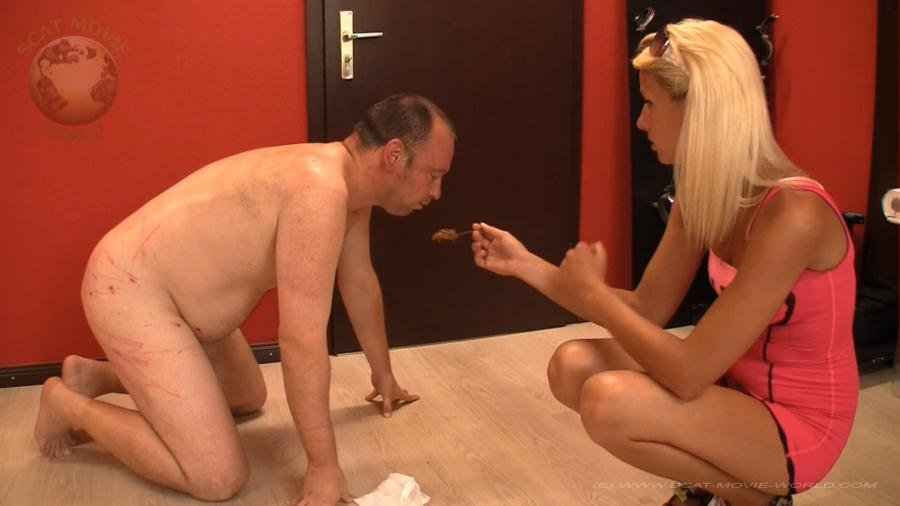 Scat-Movie-World: (Miss Cherie) - Slaves Lesson With Miss Cherie [FullHD 1080p / 926 MB] - Scat / Germany