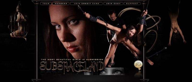 SubSpaceLand: (Erica Fontes, Caroline Fox, Marcellino) - Caught Beauty [HD / 582 MB] - BDSM / Bondage