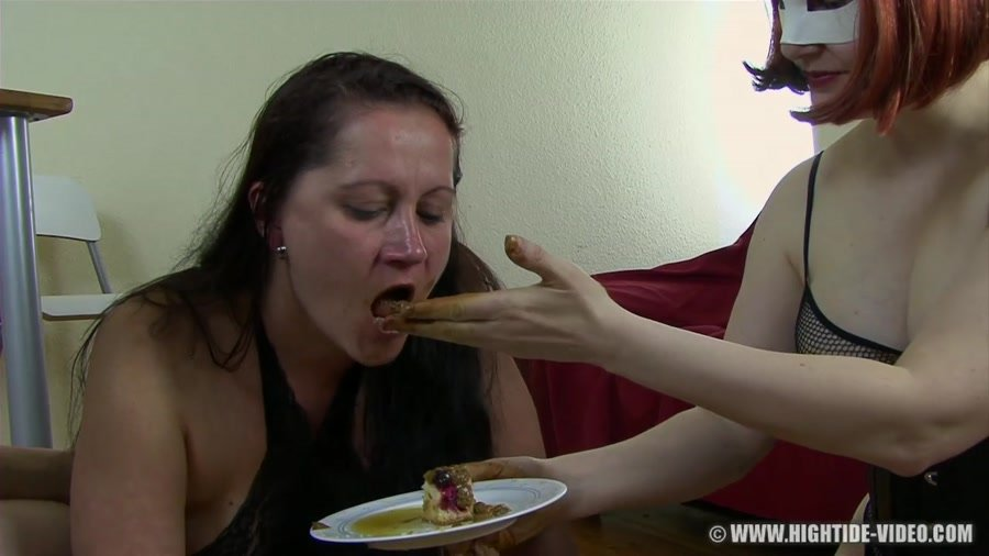 Hightide Video: (Victoria, Mia, 2 males) - Toilet Mouth For Hire [HD 720p / 1.77 GB] - Scat Life