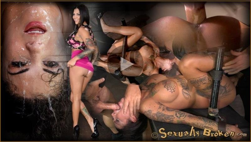 SexuallyBroken: (Bonnie Rotten, Matt Williams, Owen Gray) - AVN winner Bonnie Rotten shackled in strict device bondage, fucked to a drooling destroyed mess! [HD / 615 MB] - BDSM / Bondage