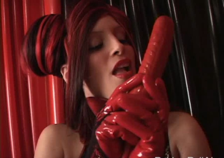 RubberDoll: (Rubber Doll) - Spike ball [SD / 112 MB] - Fetish / Latex