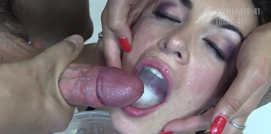 PremiumBukkake: (Nicole) - Best Scenes -59 Loads [SD / 1019 MB] - Spain / Bukkake
