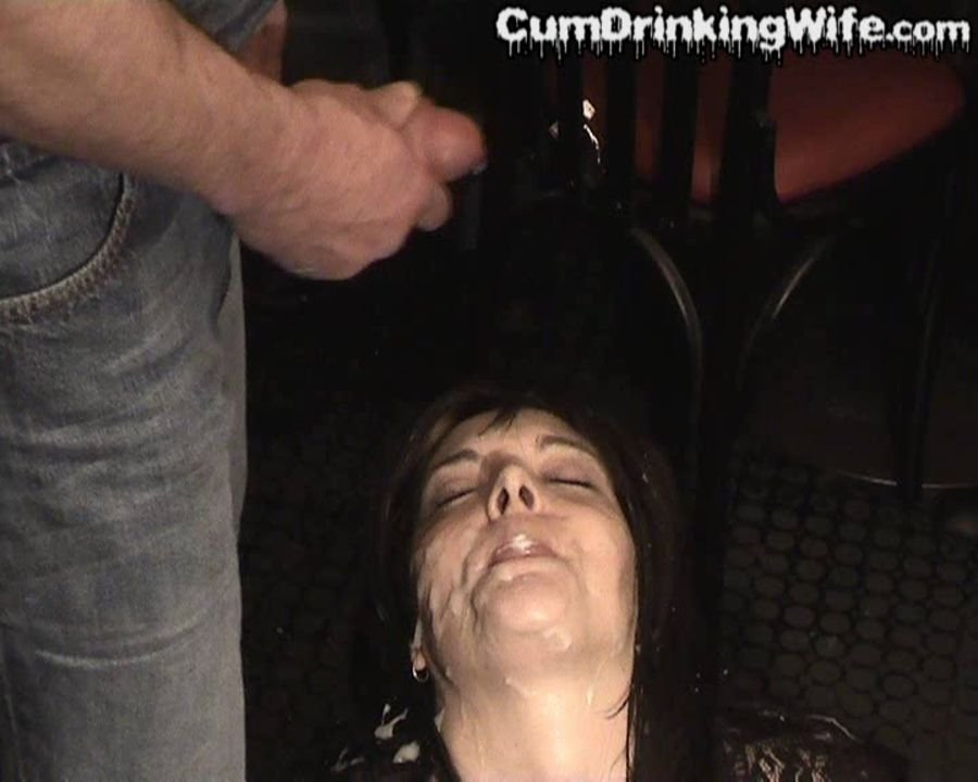 Cumdrinkingwife: (Marion) - Great Value [SD / 134 MB] - Bukkake / Germany
