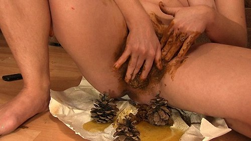 : (Dirty Barbara) - Unusual Toy In Pussy Dirty Barbara [FullHD 1080p / 396 MB] - Toilet Slavery, Domination, Scat