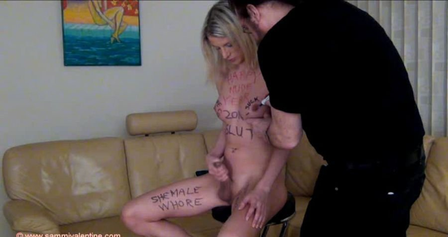 SammiValentine: (Sammi Valentine) - Happy Nude Year [SD / 304 MB] - Shemale / Transsexual