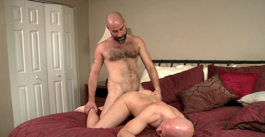 MenOver30: (Tritt Tyler, Damon Andros) - Bald Lovers [SD / 438 MB] - Gay / Hardcore