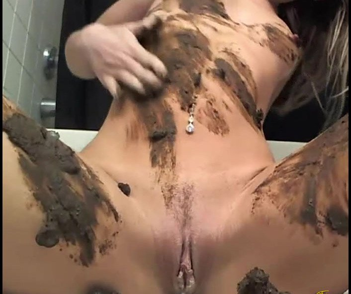 (DirtyBetty) - This Girl is Way Too Hot for Scat 3 [FullHD 1080p / 418 MB] - Solo Scat, Masturbation, Dirty Anal