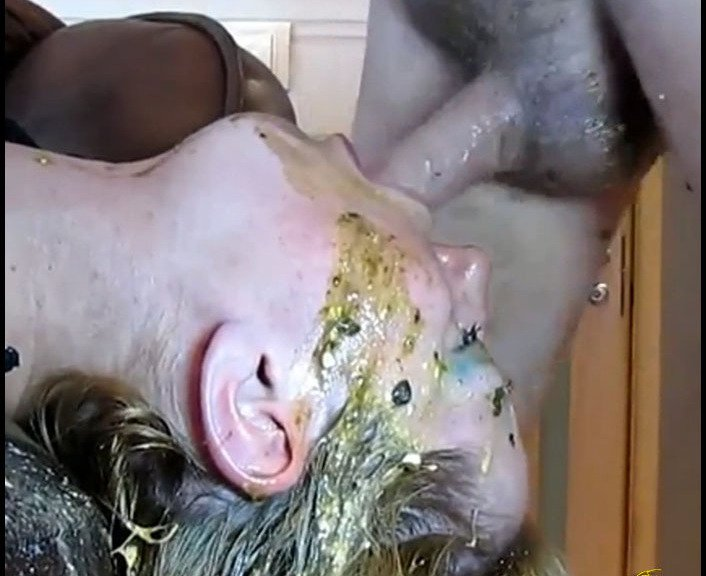 (Elecebra) - Shit Throated [FullHD 1080p / 850 MB] - Poop Videos, Scat, Smearing