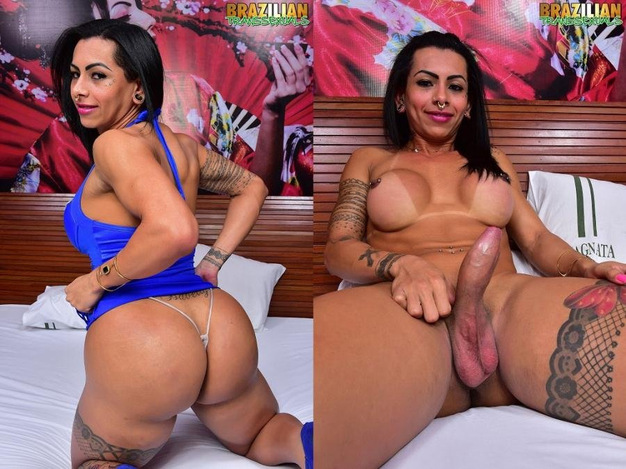 (Isabelly Ferreira) - TS Isabelly Ferreira [HD 720p / 652 MB] - Shemale / Solo