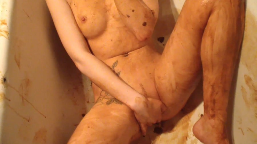 (AstraCelestial) - Loosing Scat Virginity. Part 2 [FullHD 1080p / 1.11 GB] - Shit / Poop