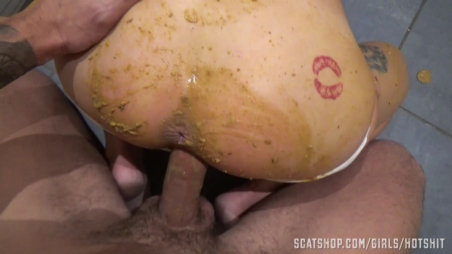 Shit Smeared: (HotShit) - Panty Poop & Dirty Anal Fuck [FullHD 1080p] - Scat Sex / Shit Smeared