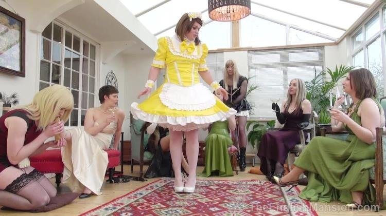 TheEnglishMansion: (Governess Ely, Goddess Miss Kelly, Miss Vivienne L'Amore, Mistress Sidonia, Mistress Evilyne) - Pretty Maid Manor Pt1 [HD / 568 MB]