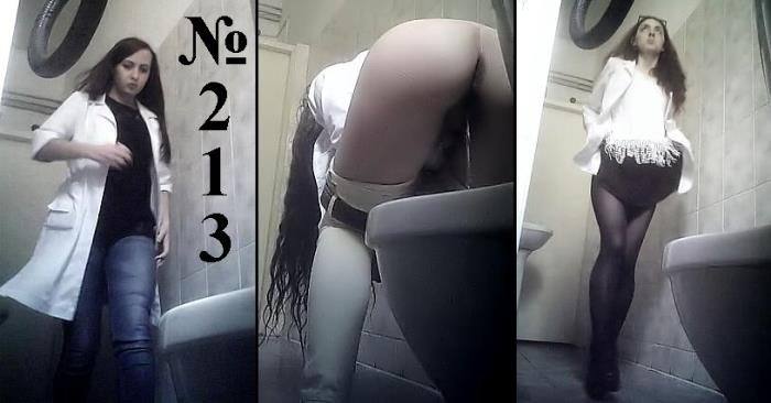 Pisswc: (Hidden Camera in Dressing Room) - Video 213 Peeping in the Ladies Toilet in Clinic [2K UHD / 1.17 GB]
