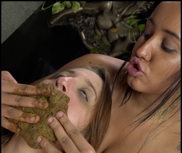 Lesbian Scat Domination: (Sophia Faber And Penelope) - Enormous Big Scat By Sophia Faber And Penelope – Take My Enormous Shit In Your Little Sweet Mouth [SD] - Lesbian Scat, Scat Girls