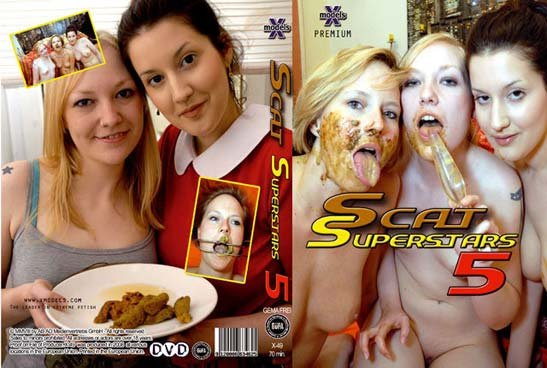 X-Models: (Louise Hunter, Susan, Tiffany, Maisy, Kira) - Scat Superstars 5 [DVDRip] - Lesbians, Shitting
