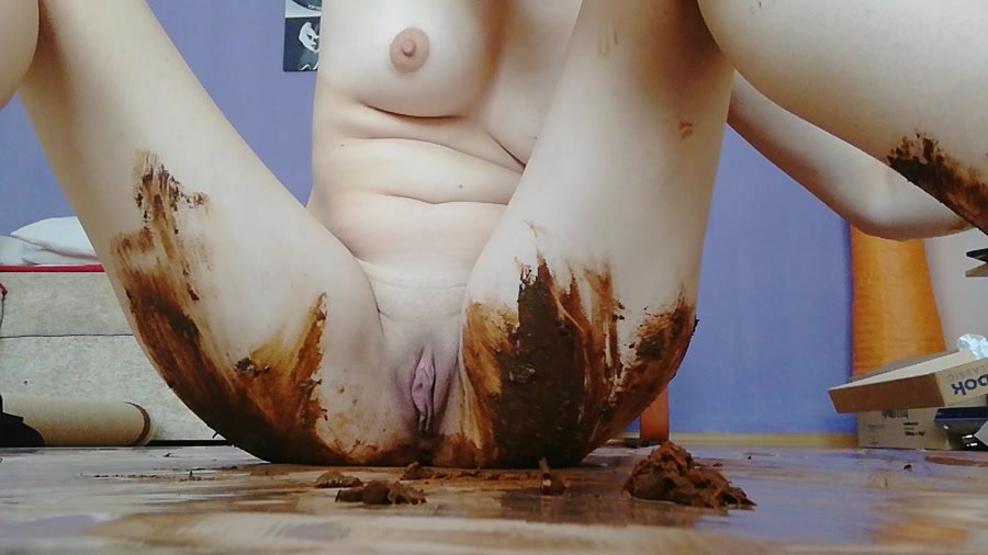 Scatting: (DianaSpark) - Dirty BlowJob – Dirty fuck [HD 720p] - Damage, Solo Scat