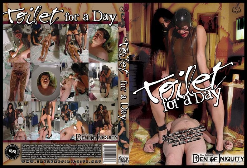 Femdom Scat: (ScatGirls) - Toilet For A Day [DVDRip] - Domination Scat, Scat Porn