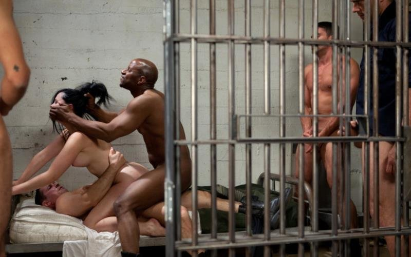 Kink: (Angell Summers) - French Hottie gets pounded by 5 prison guards [SD / 393 MB]
