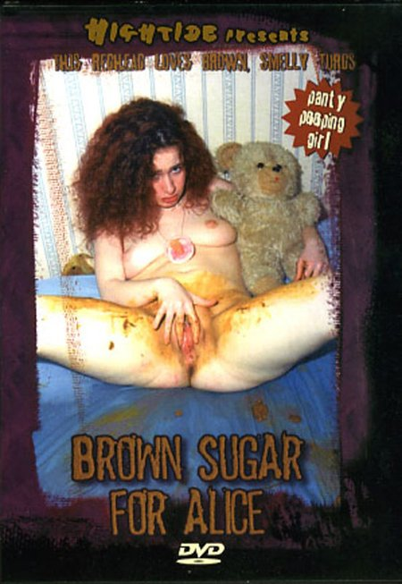 Hightide Video: (Alice) - Brown Sugar for Alice [SD] - Amateurs Scat, Young Scat Girls