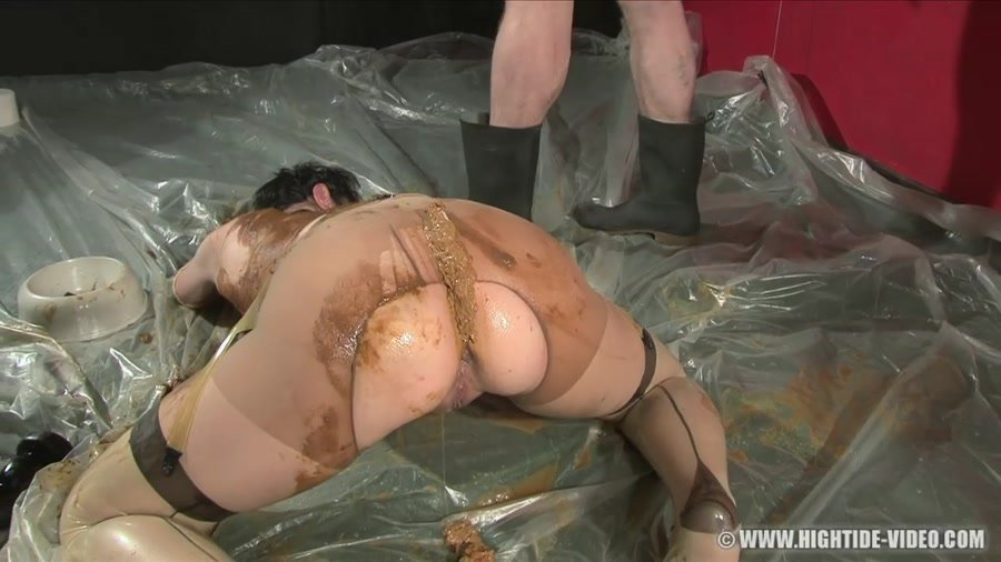 Hightide-Video.com: (Jacky, 4 males) - BERLIN SCAT GANGBANG [HD 720p] - Scat, Fisting, Group