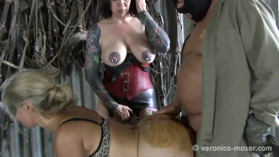 Domination Scat: (Veronika, Molly) - Slut Farm [SD] - Poopping, Femdom Scat