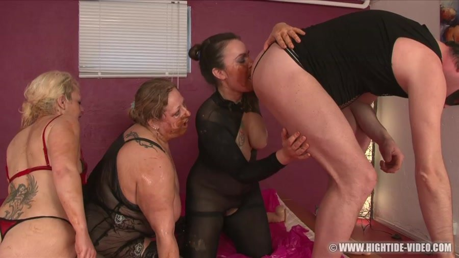 Hightide-Video: (Gina, Francesca, Nadia, 1 Male) - More Little Pigs [HD 720p] - Enema, BBW Scat