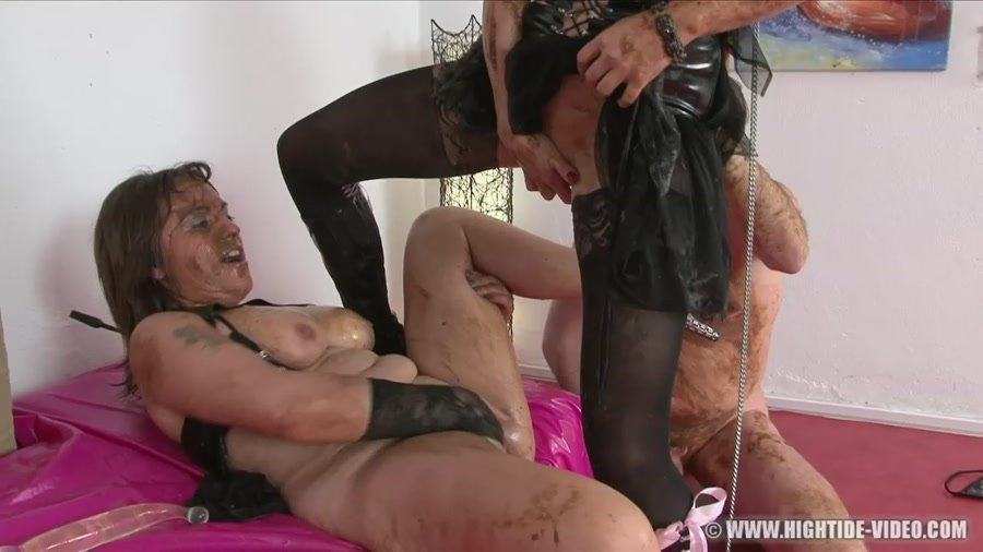 Hightide-Video: (Regina Bella, Gina, 1 Male) - SCAT SUBMISSION [HD 720p] - Scat, Group Sex