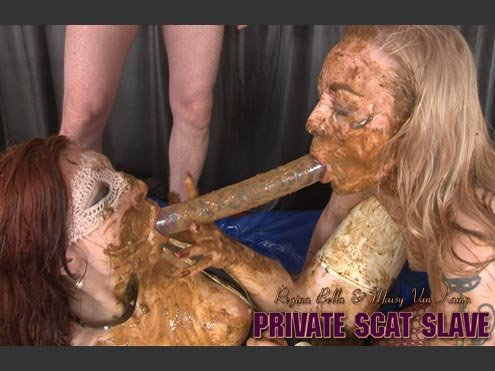 Hightide-Video: (Regina Bella, Maisy van Kamp, 1 Male) - PRIVATE SCAT SLAVE [HD 720p] - Scat, Lesbians, Group