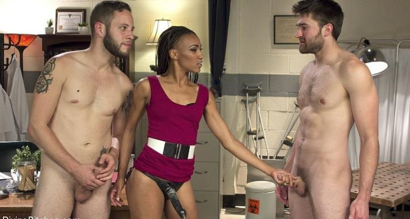 Kink: (Wolf Hudson, Nikki Darling and Abel Archer) - Cuckolding Therapy [HD / 1.44 GB]