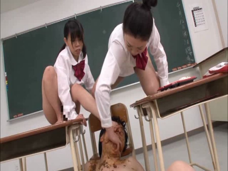 Freedom: (Various Amateurs) - Men that are in human toilet [DVDRip] - Japan, Femdom Scat