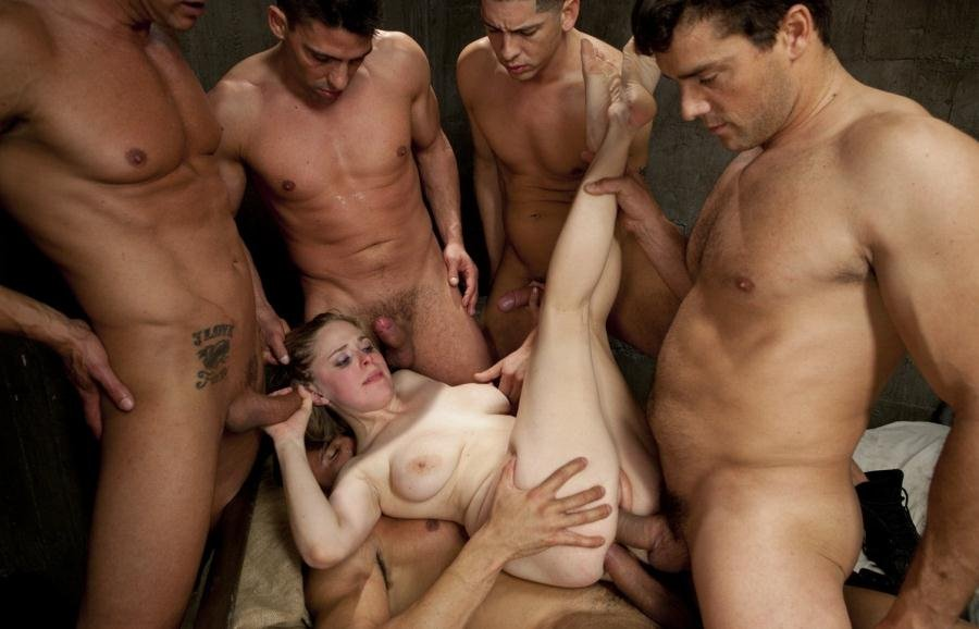 BoundGangBangs.com: (Penny Pax) - Poor Little American Girl Trapped in Mexico [HD 720p / 663 MB] - BDSM, Gang Bang