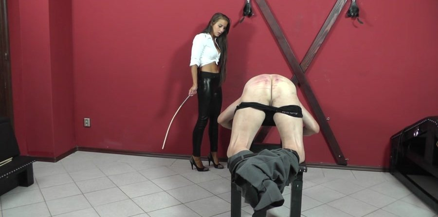 Cruel-Strapon.com: (Mistress Amanda) - RED FACE, RED ASS [HD 720p / 227 MB] - Femdom, Humilation