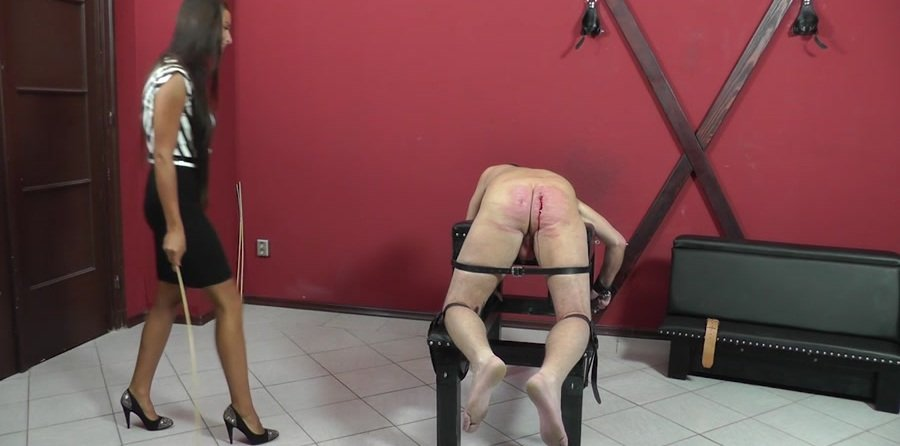 Cruel-Strapon.com: (Mistress Amanda) - STRICT BUSINESS [HD 720p / 323 MB] - Femdom, Humilation