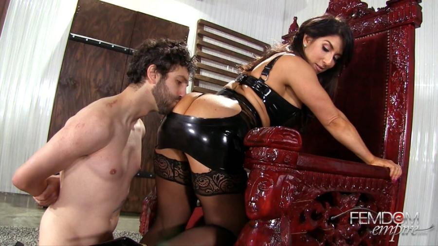 FemdomEmpire: (Raven Hart) - Shockingly Cruel Smother [FullHD 1080p / 1.00 GB] - High Heels, Stockings