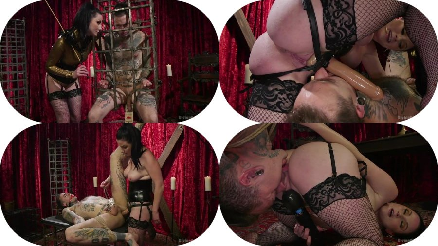 Kink.com: (Veruca James) - Disobedient Masturbating Slave Punished and Fucked with a Fat Cock [SD / 512 MB] - Strap-on, Bondage