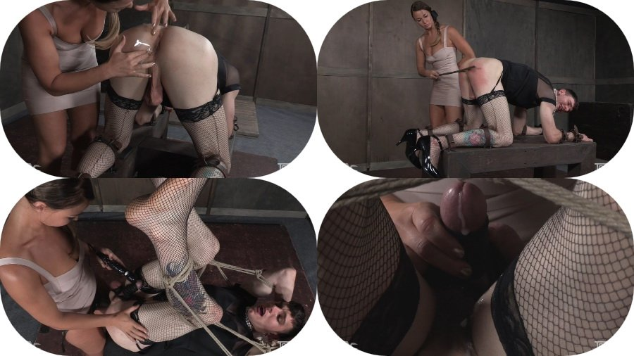 TopGrl.com: (London River) - Dress Sexy [SD / 898 MB] - Strap-on, Anal