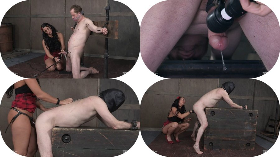 TopGrl.com: (London River) - Dick Tied [SD / 848 MB] - Bondage, Strap-on