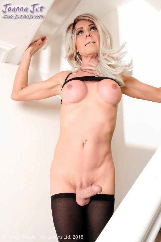 JoannaJet.com: (Joanna Jet) - Me and You 301 / Staircase Sheer [FullHD 1080p] - Shemale, Solo