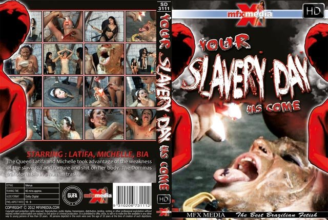 MFX Media: (Latifa, Mochelle, Bia) - [SD-3111] Your Slavery Day has come [HDRip] - Lesbian, Domination, Brazil