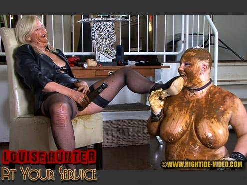 Hightide-Video.com: (Louise Hunter, Marlen) - LOUISE HUNTER - AT YOUR SERVICE [HD 720p] - Lesbian, Femdom