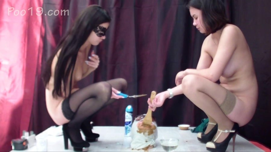 Scat Femdom: (Smelly Milana) - It was doubly tasty [FullHD 1080p] - Humiliation, Defecation